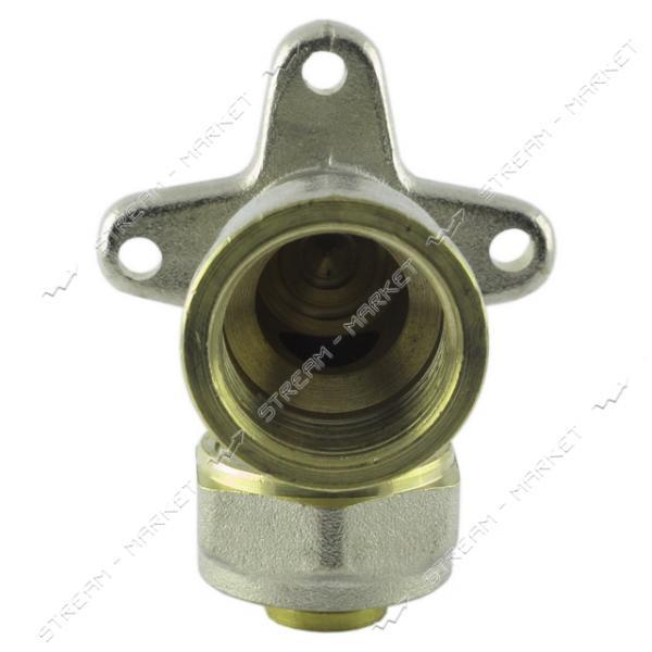 Угол для металлопластиковых труб 16х1/2'В монтажный