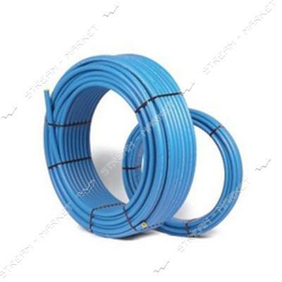 Труба ПНД d32 синяя PN10 Акведук (DanaPlast) (100м)