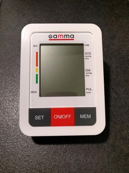 Автоматический тонометр Gamma Plus с адаптером в комплекте