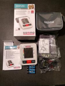 Фото Тонометры Автоматический тонометр Gamma Plus с адаптером в комплекте