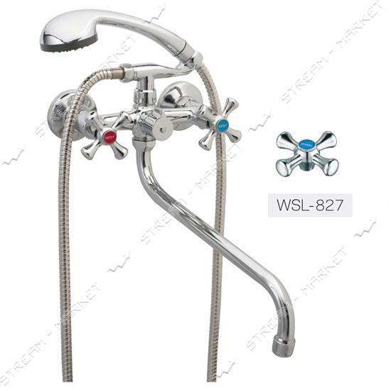 Смеситель для ванной ZERIX-DMT WSL-827