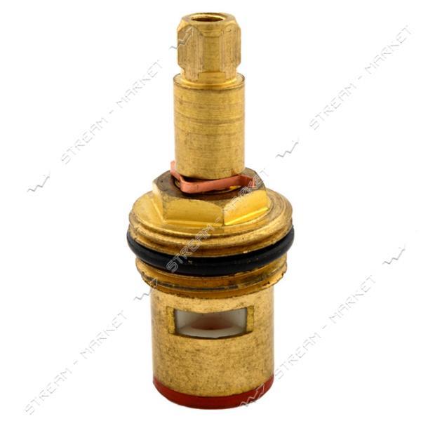 Кран букса для смесителя 1/2' квадратный маховик узкая резьба под узкую юбку керамика