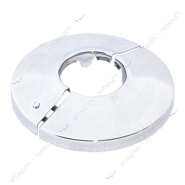 Чашка-декор для эксцентрика смесителя 1' РАЗБОРНАЯ (Латунь)(глуб. 8 мм ф 65мм.)