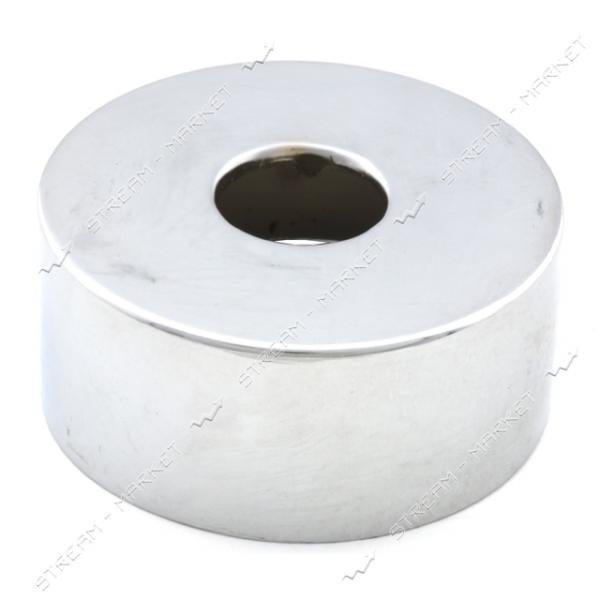 Чашка-декор для эксцентрика смесителя 1/2' d.65мм (Нержавейка)(глуб. 30 мм) ZQ-14