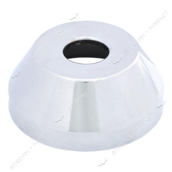 Чашка-декор для эксцентрика смесителя 1/2' ГЛУБОКАЯ (Латунь)(глуб. 33 мм ф 75мм.)