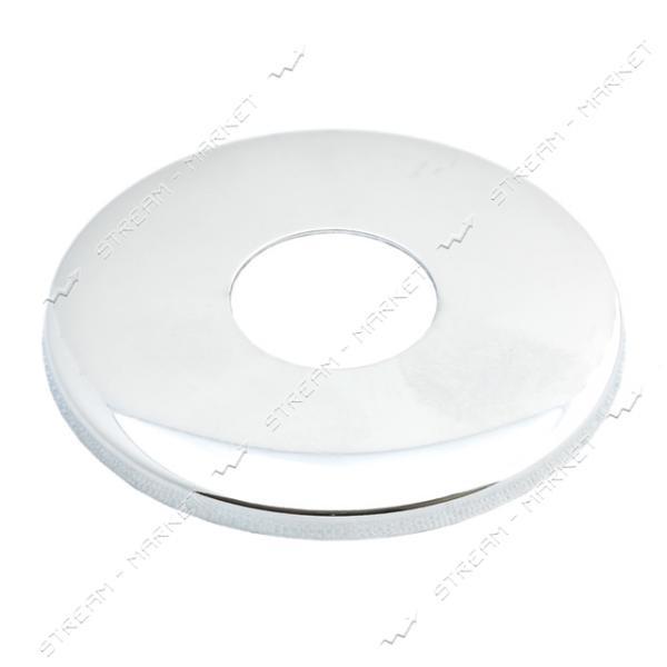 Чашка-декор для эксцентрика смесителя 3/4' ПЛОСКАЯ (Латунь)(глуб. 3 мм ф 60мм.)