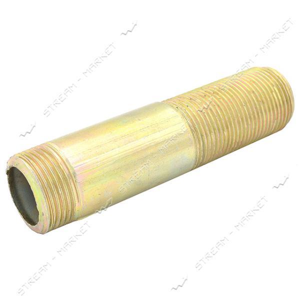 Сгон стальной анодированный Ду20х150мм