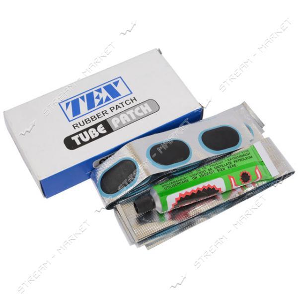 Латки на камеру 48 шт. клей (Размер 3, 5см х 2, 5см)
