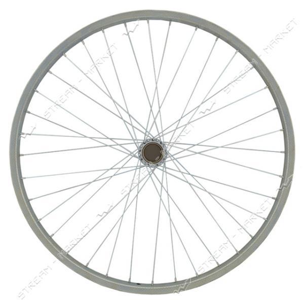 Колесо заднее d 26 на велосипед (стакан, спица, обод)