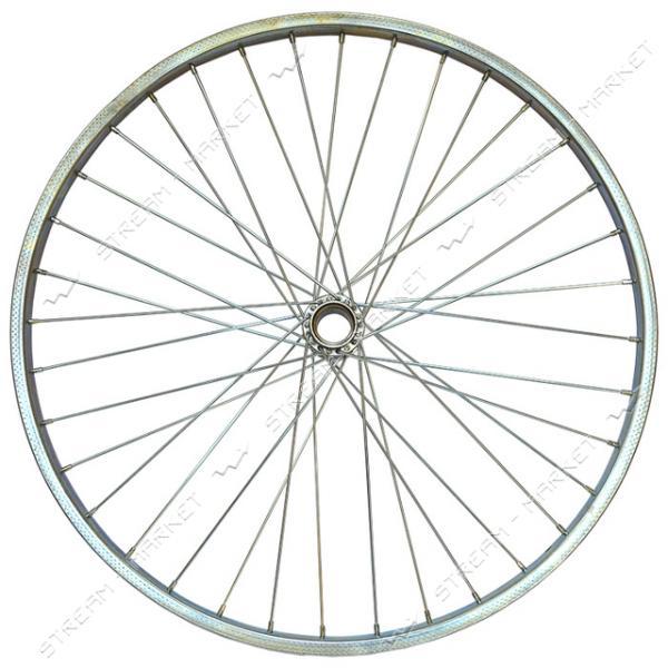 Колесо заднее усиленное d 28 на велосипед (стакан, спица, обод)