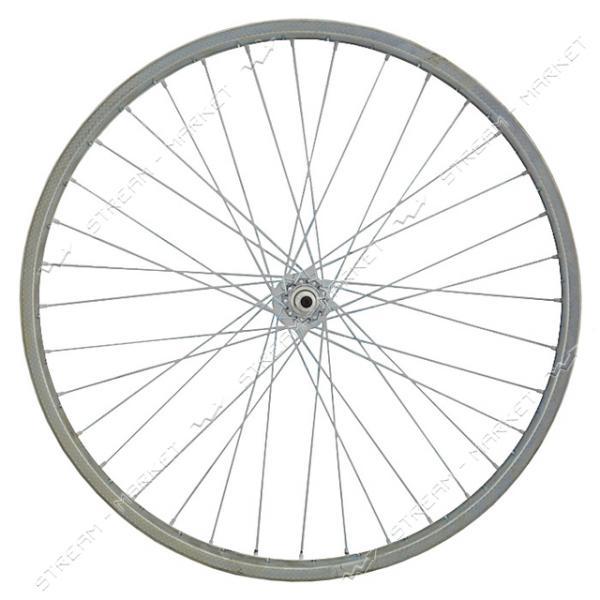 Колесо переднее d 26 на велосипед (с втулкой)