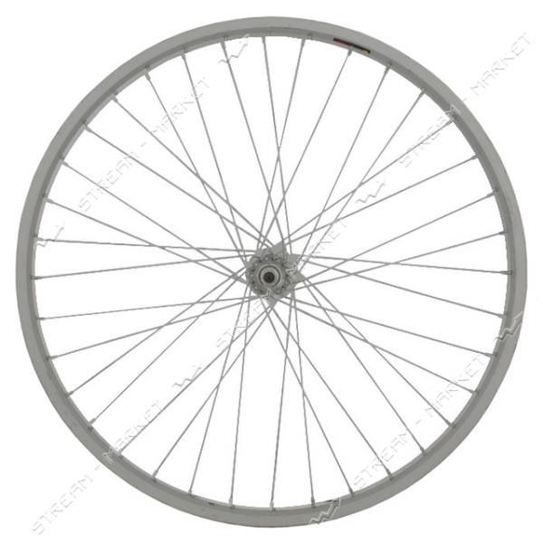Колесо переднее d 26 на велосипед (с втулкой) спорт