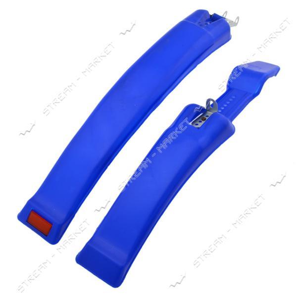 Крыло выдвижное спортивное пластик переднее и заднее с катафотом