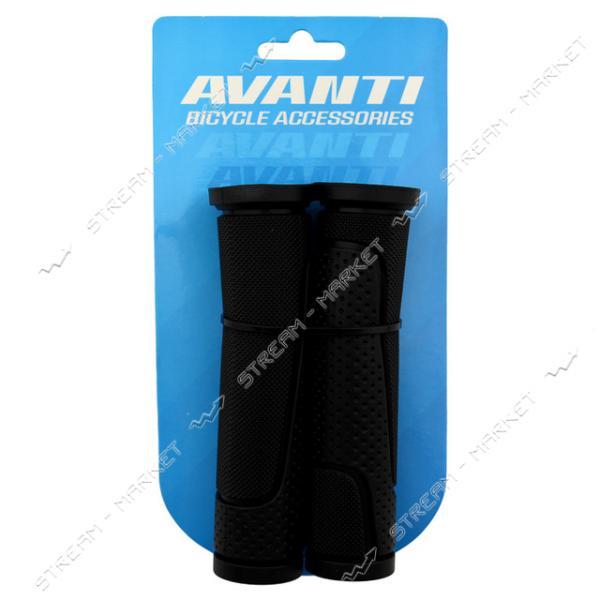 Ручка на велосипедный руль резиновая AVANTI (цена за упаковку)