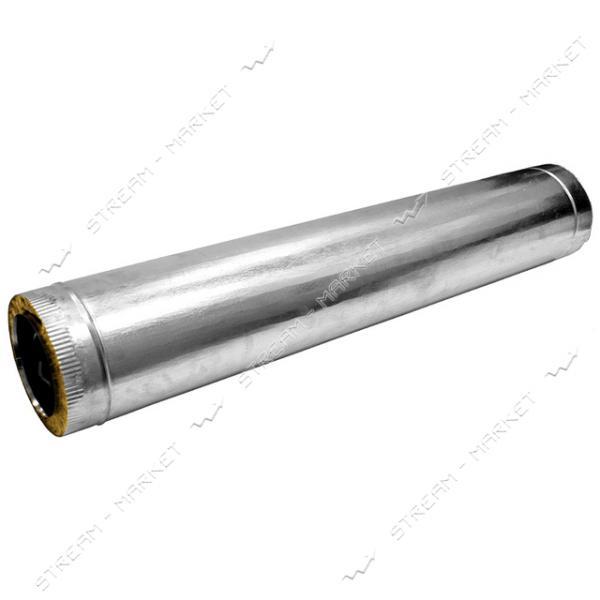 Труба нержавейка утепленная (базальт) (0, 4 мм) 0, 5 м d 130/190