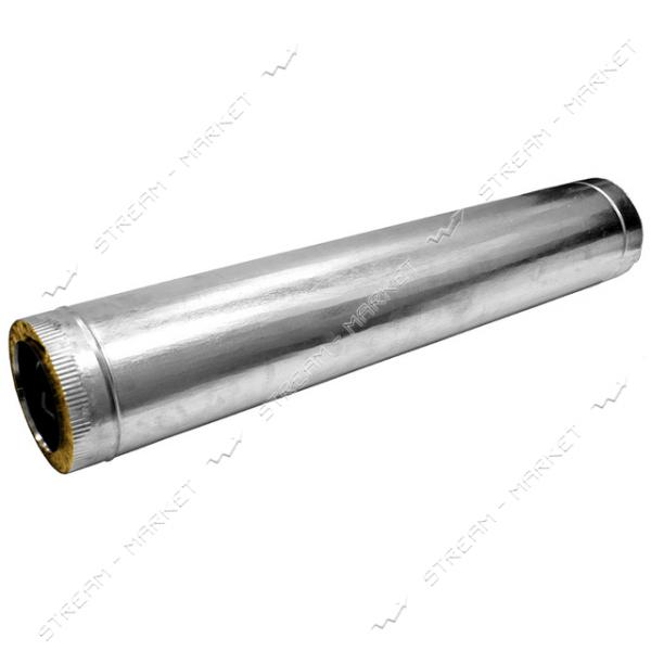 Труба нержавейка утепленная (базальт) (0, 4 мм) 1, 0 м d 160/220 (под заказ)