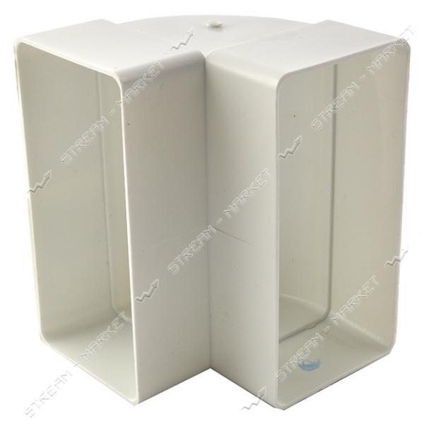 VENTS Колено вентиляционное 55x110 5252