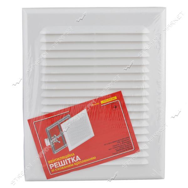Решетка вентиляционная пластик (Николаев) 215х175