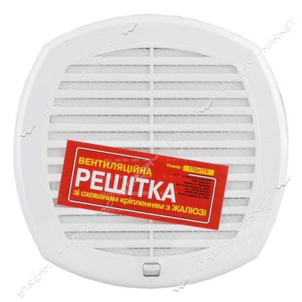 Решетка вентиляционная пластик (Николаев) Т 17*17 жалюзи