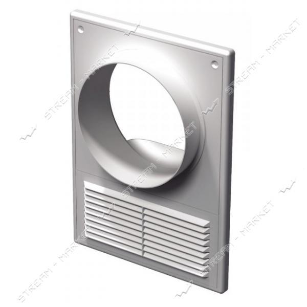 VENTS Решетка вентиляционная МВ 125 КВс