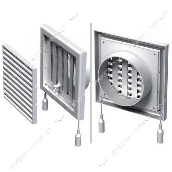 VENTS Решетка вентиляционная МВ 100 ВРс