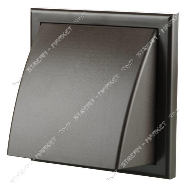 VENTS Решетка вентиляционная МВ 122 ВК коричневая