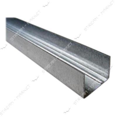 Профиль для гипсокартона направляющий UD27 4м 0.38мм