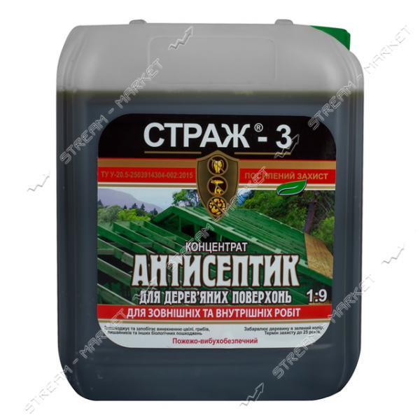 Антисептик - Антижук СТРАЖ-3 биозащита концентрат 1:9 5л