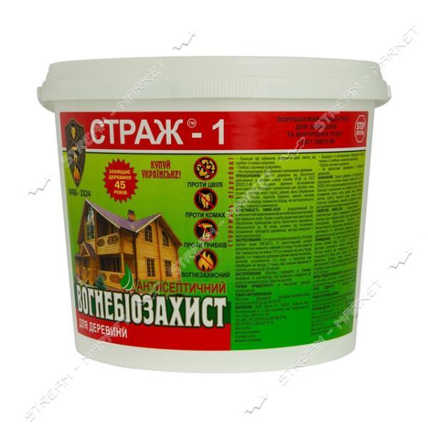 Антисептик СТРАЖ-1 огнебиозащита ХМББ3324 сухой концентрат 5кг