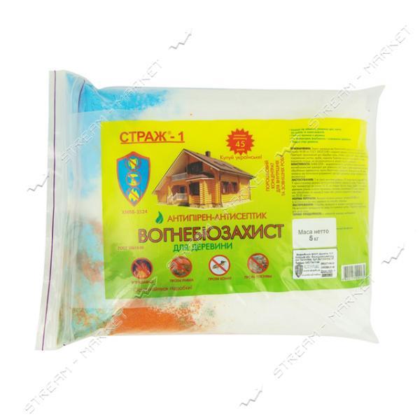 Антисептик СТРАЖ-1 огнебиозащита ХМББ-3324 сухой концентрат 5кг пакет