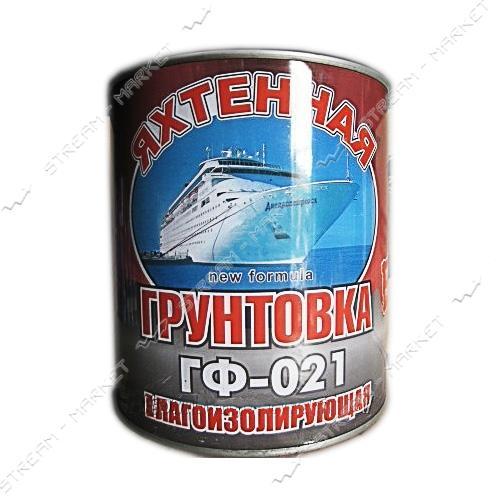 Грунтовка влагоизолирующая по ржавчине ГФ-021 Яхтенная красно-коричневая 0.9л