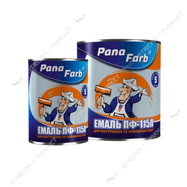 Краска алкидная ПФ-115 PanaFarb 0.9кг светло-серая