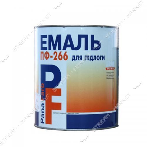 Краска алкидная ПФ-266 PanaFarb 0.9кг красно-коричневая