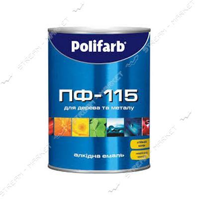 Эмаль алкидная ПФ-115 Polifarb Экомаль 2.7л светло-голубая
