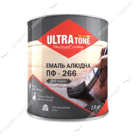 Краска алкидная ПФ-266 Ultratone 0.9л красно-коричневая