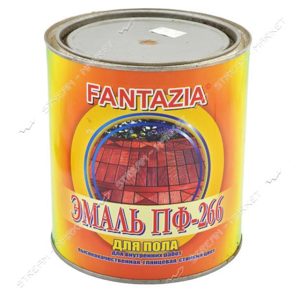 Эмаль алкидная ПФ-266 Фантазия 2.8л для пола красно-коричневая