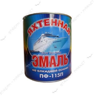 Эмаль алкидная ПФ-115 Яхтинная 2.8л синяя