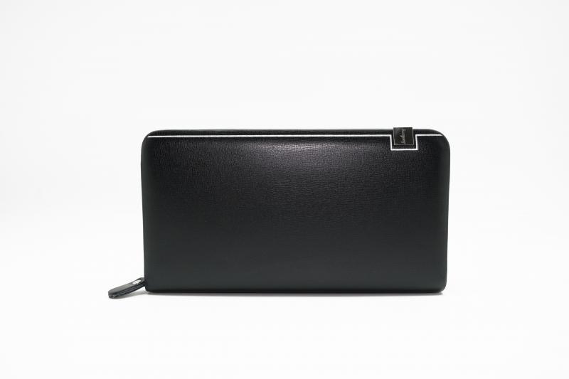 Фото  Мужской клатч портмоне Baellerry Classic Черный, коричневый