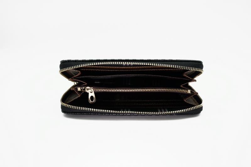 Фото  Мужской клатч портмоне Baellerry Cage Черный, коричневый