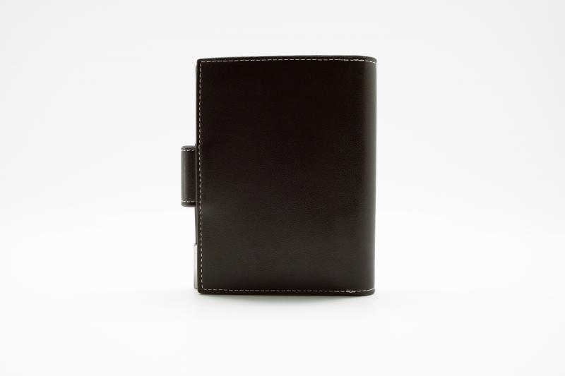 Фото  Мужской клатч портмоне Baellerry Modern Чрный, коричневый