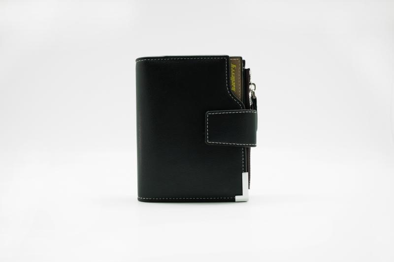 Мужской клатч портмоне Baellerry Modern Zipper Черный, коричневый