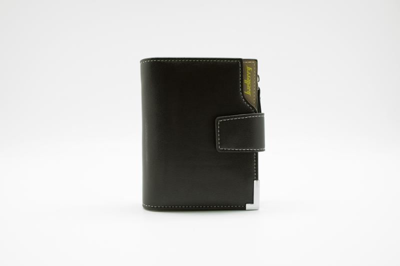 Фото  Мужской клатч портмоне Baellerry Modern Zipper Черный, коричневый