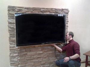 Фото  Повесим ваш телевизор LED,проектор на стену.Одесса и пригород. Установка телевизора на стену.0987458815,0994441954,0633883316.  Повесить телевизор LCD LED Plasma ,Плазменные панели (PDP) Жидкокристаллические, ЖК (LCD) телевизоры На светодиодах (LED) на ст