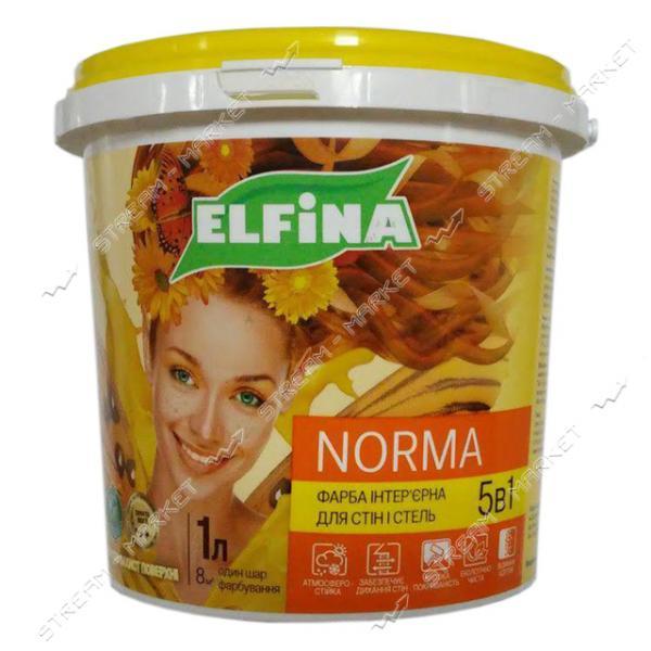 Краска водоэмульсионная Elfina NORMA 7кг