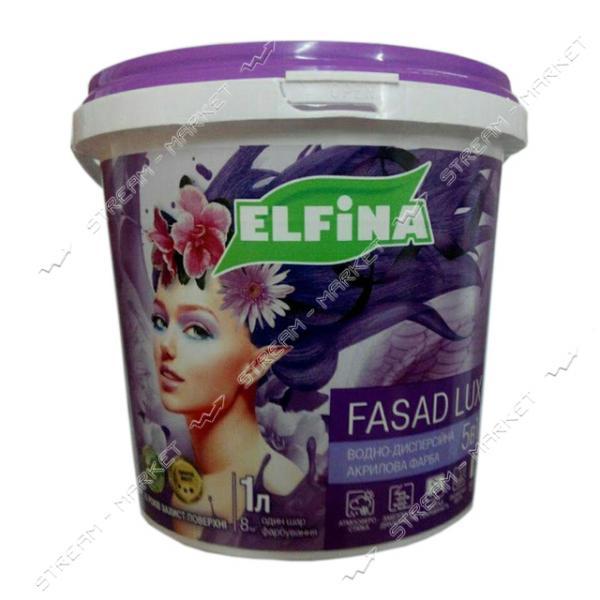 Краска водоэмульсионная Elfina Фасад LUX 7кг