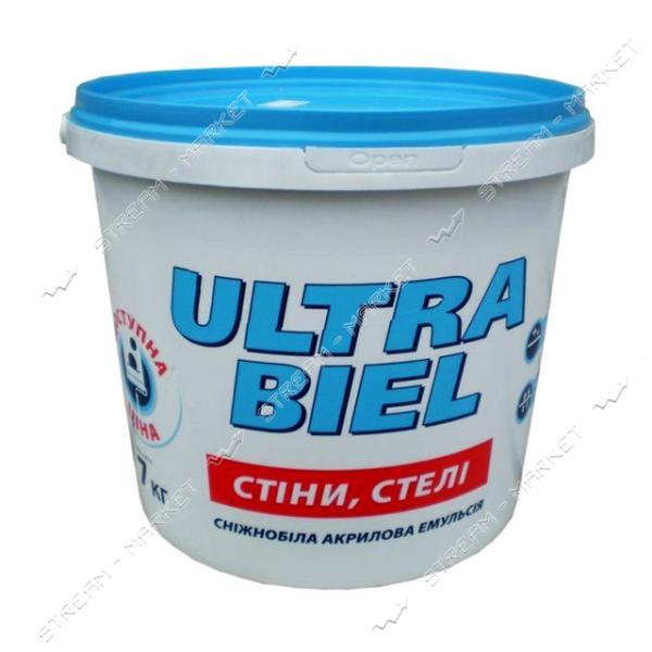Краска водоэмульсионная Sniezka ультрабель 1.4кг