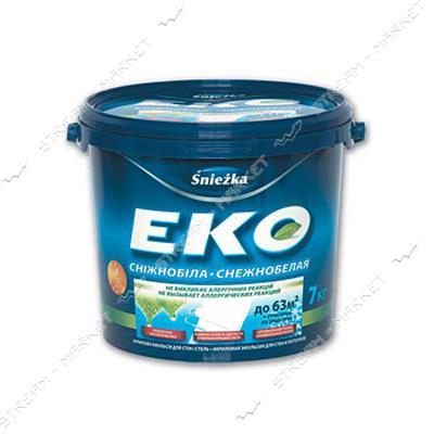 Краска водоэмульсионная Sniezka ЭКО 4.2кг