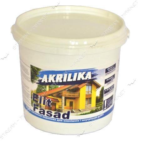 Краска водоэмульсионная ACRILIKA FlitFasad Фасадная 4.2кг