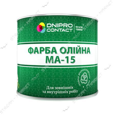 Краска масляная МА-15 Днепр-Контакт 1кг синяя