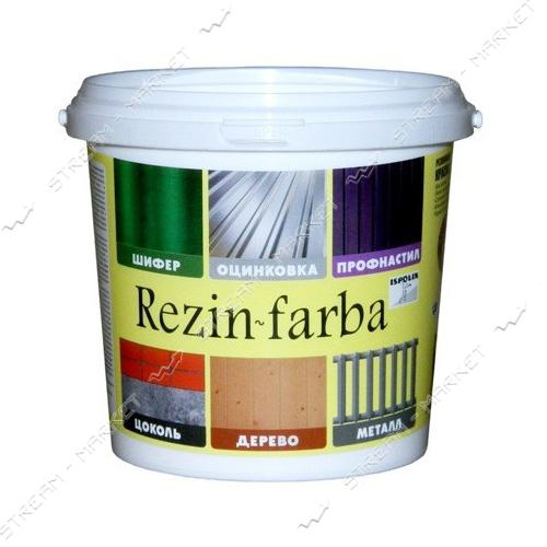 Краска резиновая ISPOLIN Rezin-farba 1л